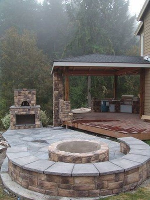 Awesome Outdoor Kitchen Design Ideas 36