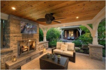 Awesome Outdoor Kitchen Design Ideas 37