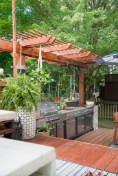 Awesome Outdoor Kitchen Design Ideas 42