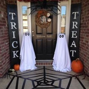Cozy Vintage Halloween Decoration For Outdoor Ideas 06