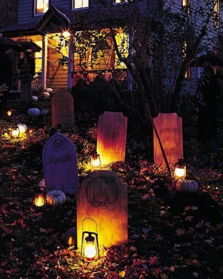 Cozy Vintage Halloween Decoration For Outdoor Ideas 09