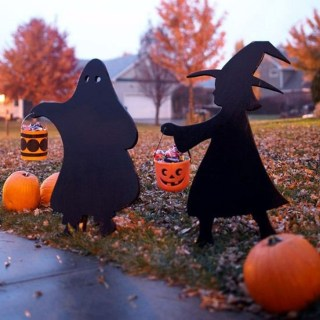 Cozy Vintage Halloween Decoration For Outdoor Ideas 36