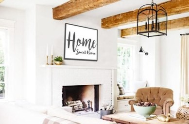 Fabulous Farmhouse Wall Decor Ideas04