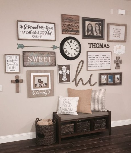 Fabulous Farmhouse Wall Decor Ideas28