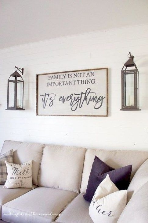 Fabulous Farmhouse Wall Decor Ideas34