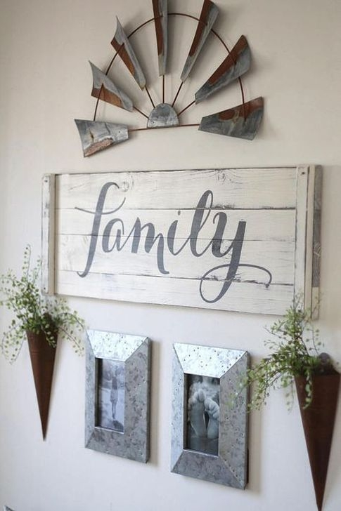 Fabulous Farmhouse Wall Decor Ideas42