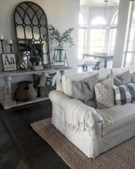 Fantastic Living Room Farmhouse Style Decorating Ideas 29