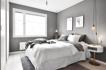 Gorgeous Grey Bedroom Ideas To Repel Boredom07