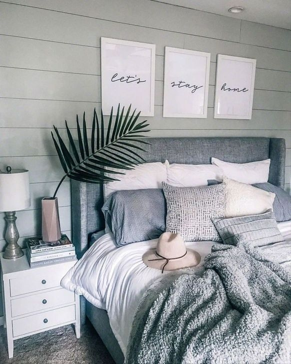 Gorgeous Grey Bedroom Ideas To Repel Boredom09