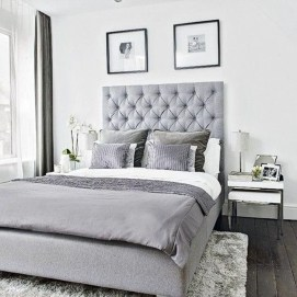 Gorgeous Grey Bedroom Ideas To Repel Boredom22
