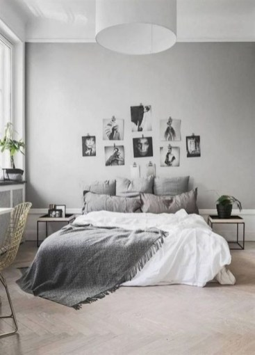 Gorgeous Grey Bedroom Ideas To Repel Boredom23
