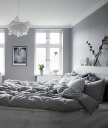 Gorgeous Grey Bedroom Ideas To Repel Boredom31