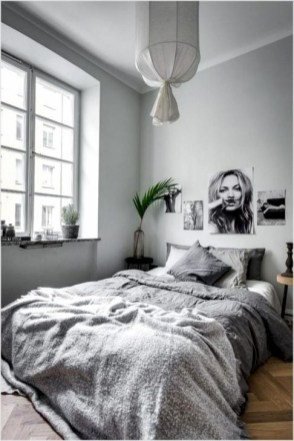 Gorgeous Grey Bedroom Ideas To Repel Boredom43