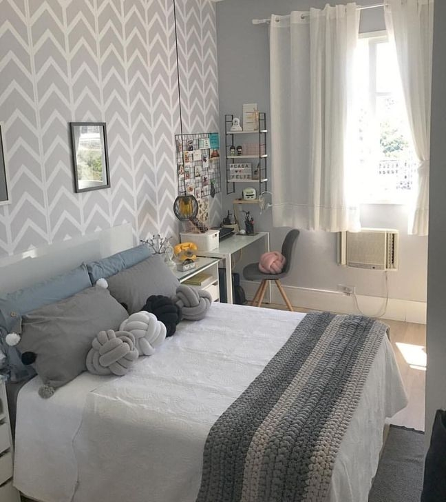 Gorgeous Grey Bedroom Ideas To Repel Boredom45