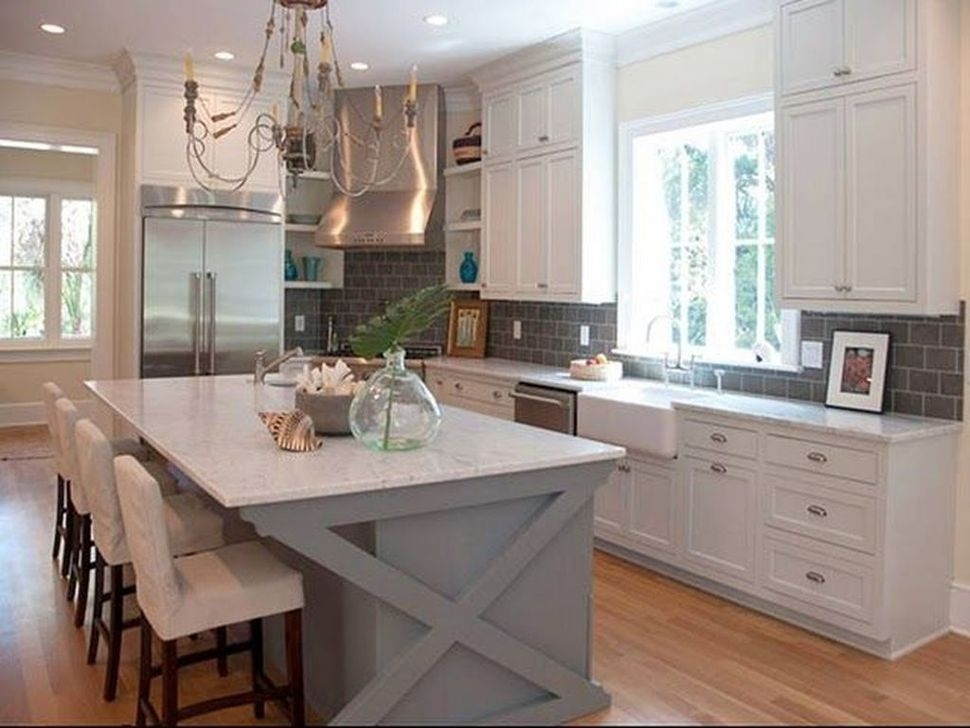 Popular Farmhouse Kitchen Island Decor Ideas14