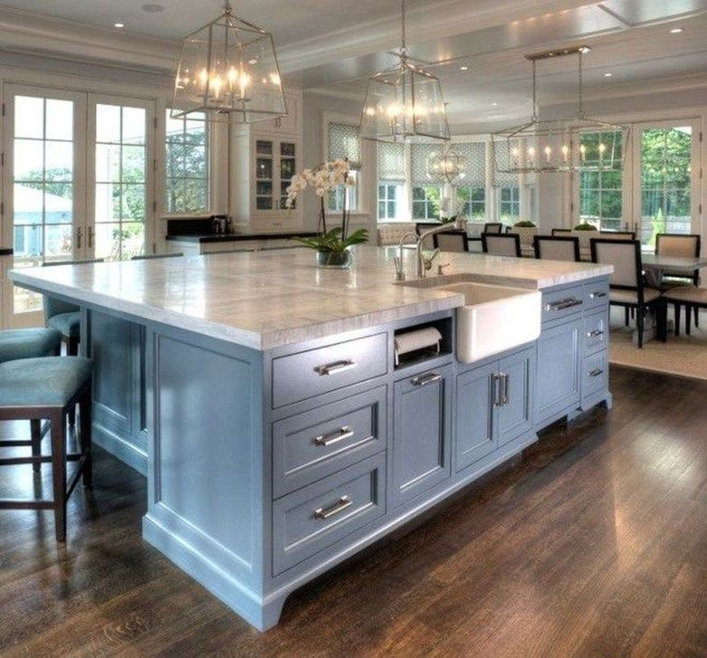 Popular Farmhouse Kitchen Island Decor Ideas28
