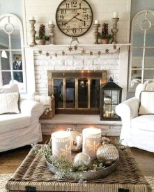 Popular French Country Living Room Decor Ideas 11