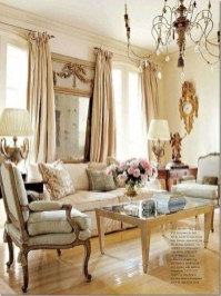 Popular French Country Living Room Decor Ideas 19