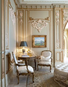 Popular French Country Living Room Decor Ideas 42