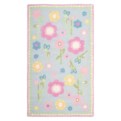 Romantic Floral Printed Rug Ideas To Beautify Your Floor39