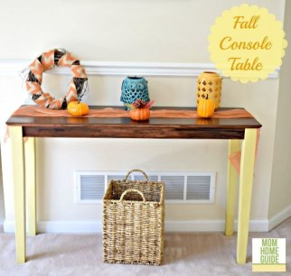 Stylish Console Table For Halloween Ideas 27