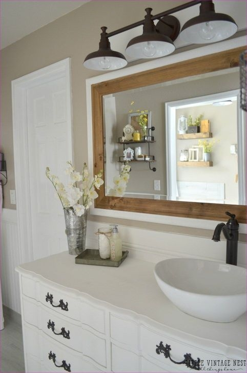 Amazing Farmhouse Master Bathroom Decor And Design Ideas24