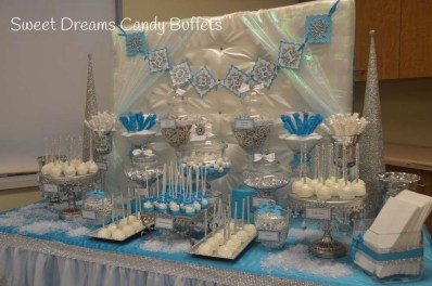Charming Winter Themed Baby Shower Decoration Ideas01