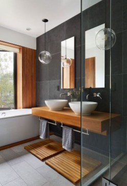 Cozy Bathroom Design And Decor Ideas32