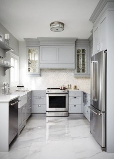 Cozy White Kitchen Design And Decor Ideas04