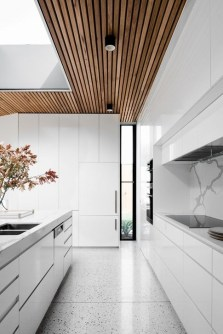 Cozy White Kitchen Design And Decor Ideas25