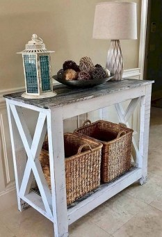Creative Farmhouse Entryway Decorating Ideas34