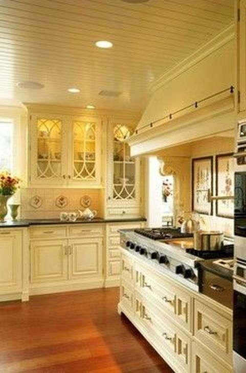 Magnificient French Country Kitchen Design And Decor Ideas43