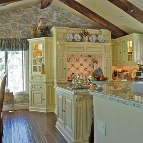 Magnificient French Country Kitchen Design And Decor Ideas46
