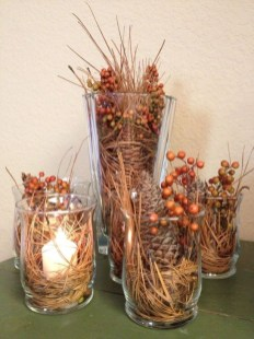 Minimalist Fall Homemade Wedding Decoration On A Budget Ideas10