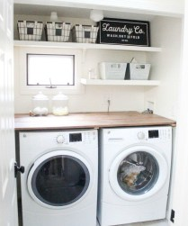 Popular Farmhouse Laundry Room Decorating Ideas02