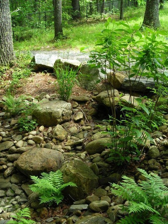 Pretty Front Yard Rock Garden And Landscaping Ideas46