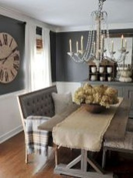 Romantic Rustic Farmhouse Dining Room Makeover Ideas11
