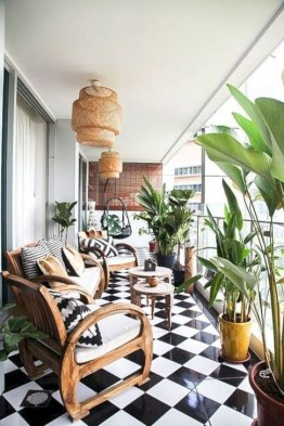 Unique Apartment Balcony Design And Decor Ideas17