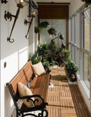 Unique Apartment Balcony Design And Decor Ideas20