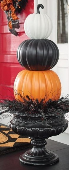 Unique Crafty Diy Outdoor Halloween Decorating Ideas46