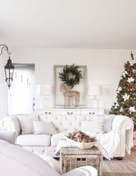 Comfy Christmas Living Room Decor Ideas13