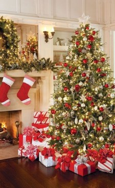 Comfy Christmas Living Room Decoration Ideas07