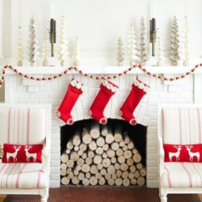 Comfy Christmas Living Room Decoration Ideas20
