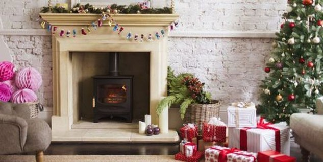 Comfy Christmas Living Room Decoration Ideas25