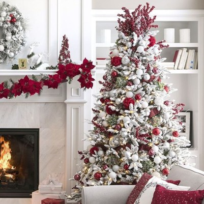 Fascinating Christmas Tree Decoration Ideas36