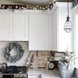 Lovely Fun Christmas Decoration Kitchen Ideas05