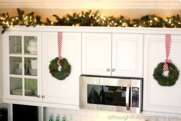 Lovely Fun Christmas Decoration Kitchen Ideas34