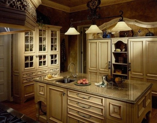 Popular French Country Kitchen Decoration Ideas For Home05