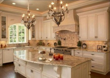 Popular French Country Kitchen Decoration Ideas For Home08