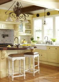 Popular French Country Kitchen Decoration Ideas For Home30
